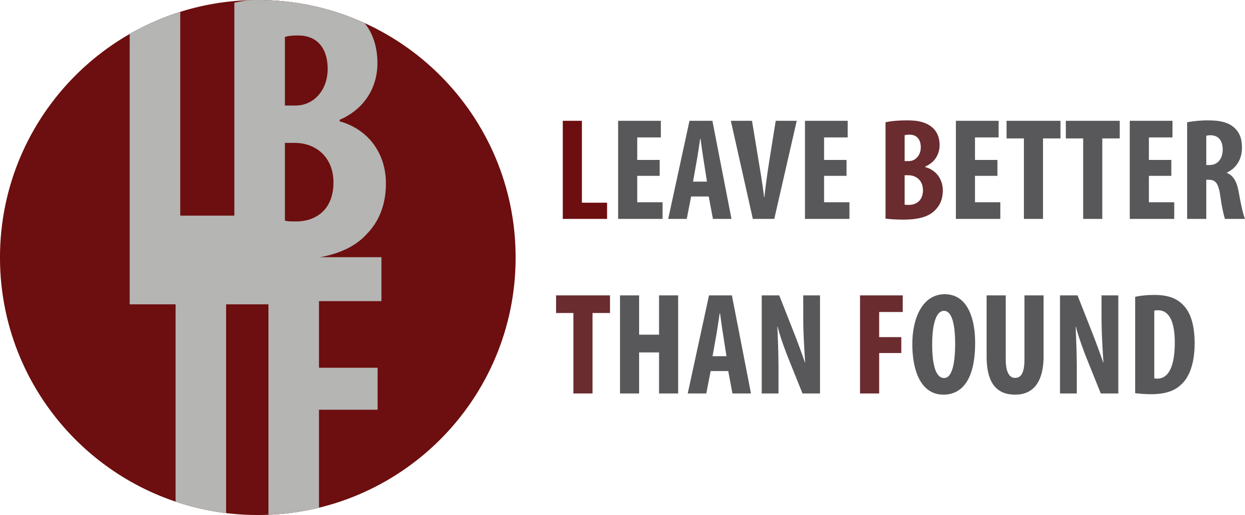 Leave Better Than Found Logo